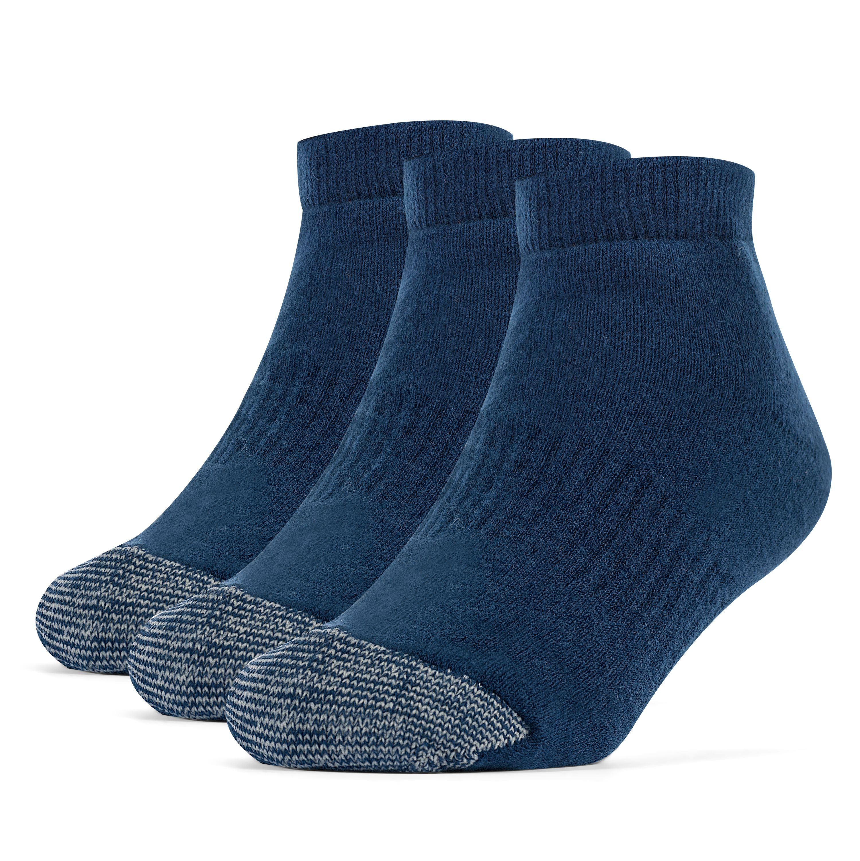 Galiva Girls' Cotton Extra Soft Low Cut Cushion Socks - 3 Pairs