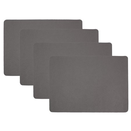 Hotel by Domay Faux Leather Placemats, Set of 4, 13