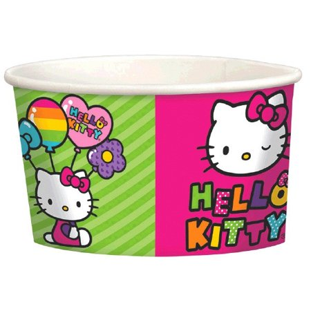 Hello Kitty 'Rainbow' Ice Cream Cups - Rainbow Kitty