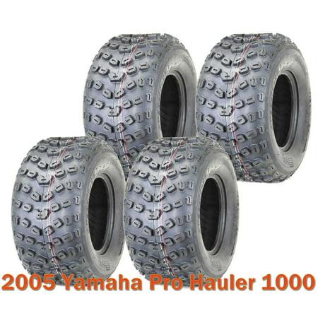 Full Set 4 Sport ATV Tires 22x11-10 6PR for 2005 Yamaha Pro Hauler 1000