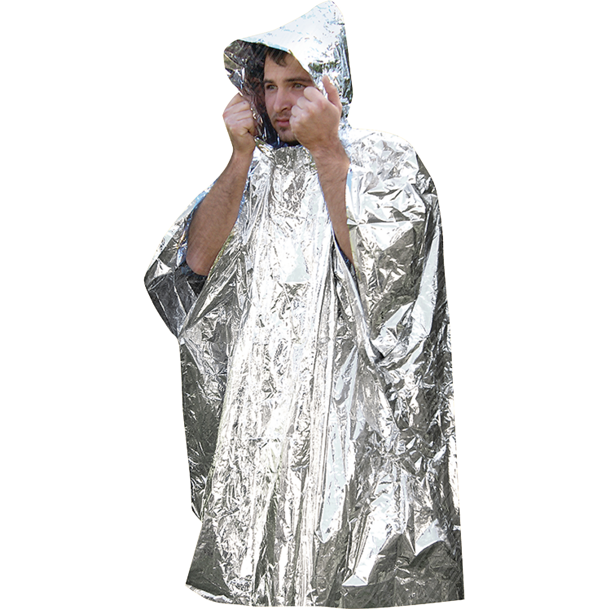 Seachoice Reflective Survival Poncho
