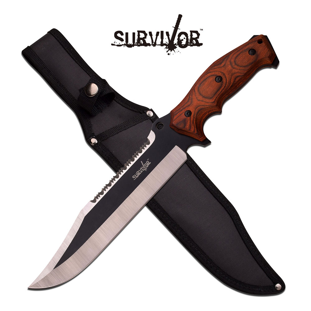 Survivor Fixed Blade Knife