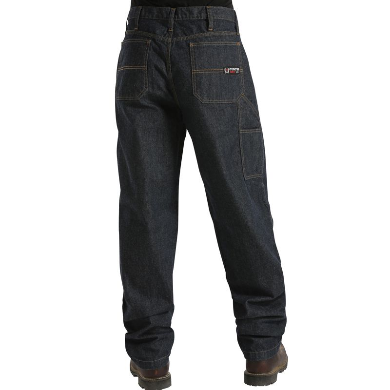 Cinch Apparel Mens  Flame Resistant FR Blue Label Carpent...