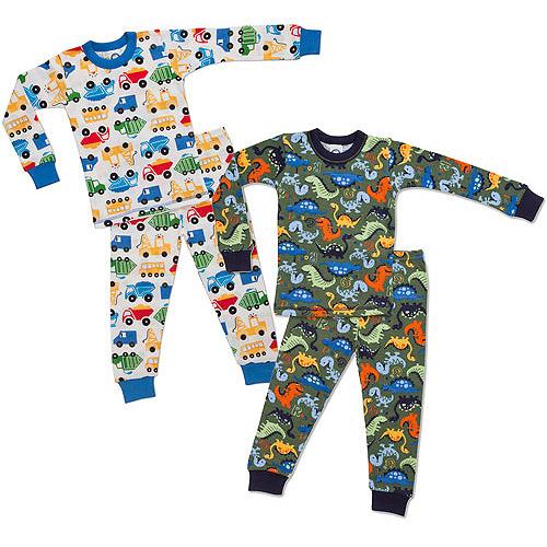 Gerber - Baby Boys' Thermal Pajamas, 2 Pack - Walmart.com