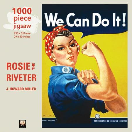 Rosie the Riveter Jigsaw : 1000 Piece Jigsaw