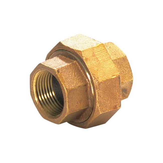 0.75 in. Red Brass Lead Free Union Compression - image 1 of 1