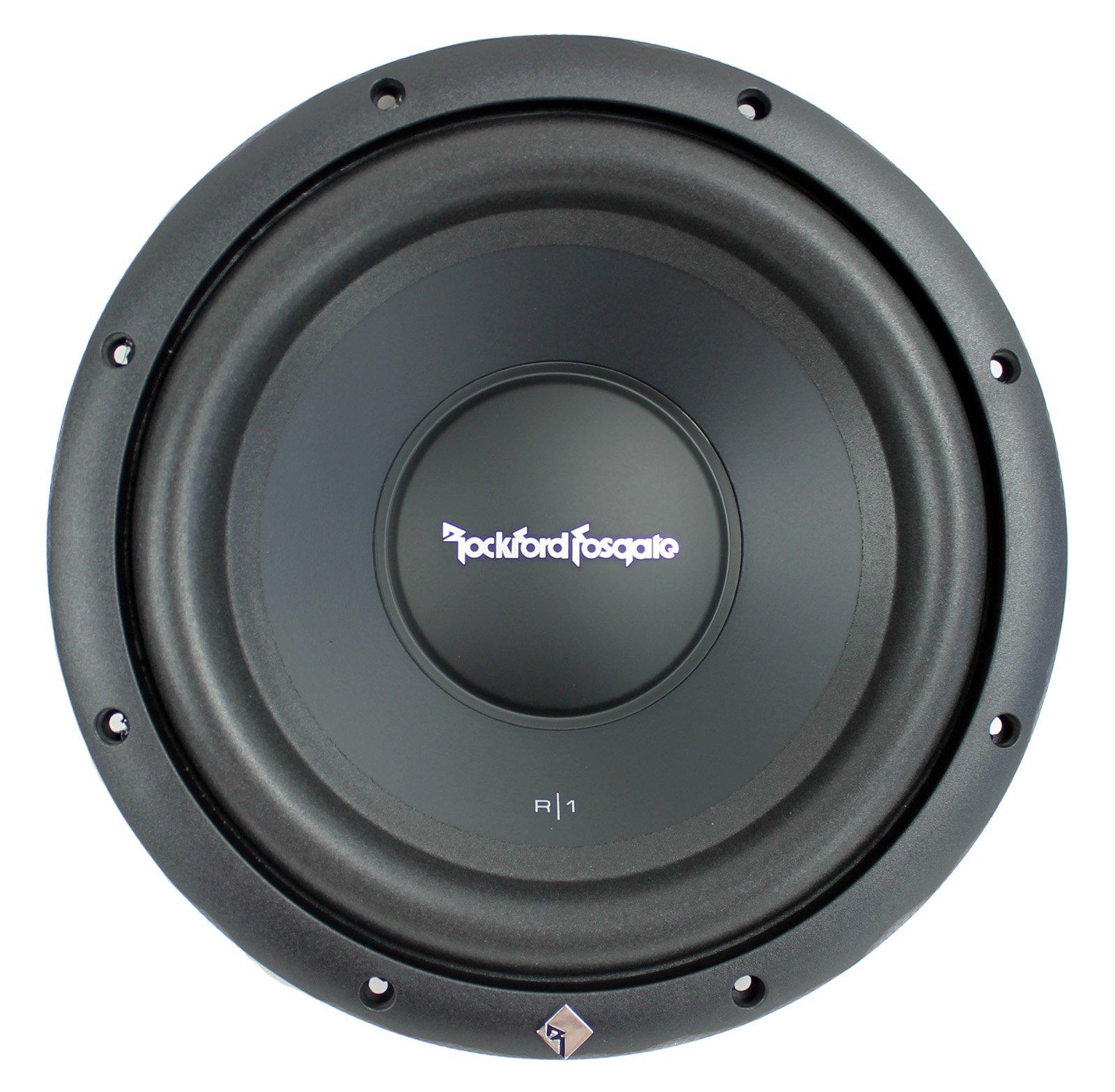 "Rockford Fosgate R1S4-10 Prime 10"" 300 Watt 4 Ohm SVC Car Audio Subwoofer Sub"