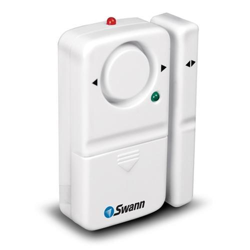 Swann SW351-MDA Magnetic Window/Door Alarm - Powerful siren, No Tools Required,