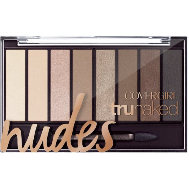BYS Nude 2 Eyeshadow Palette, 12 Color Collection in Tin