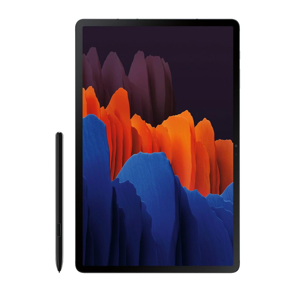 SAMSUNG Galaxy Tab S7 Plus 128GB Mystic Black (Wi-Fi) S Pen Included - SM-T970NZKAXAR