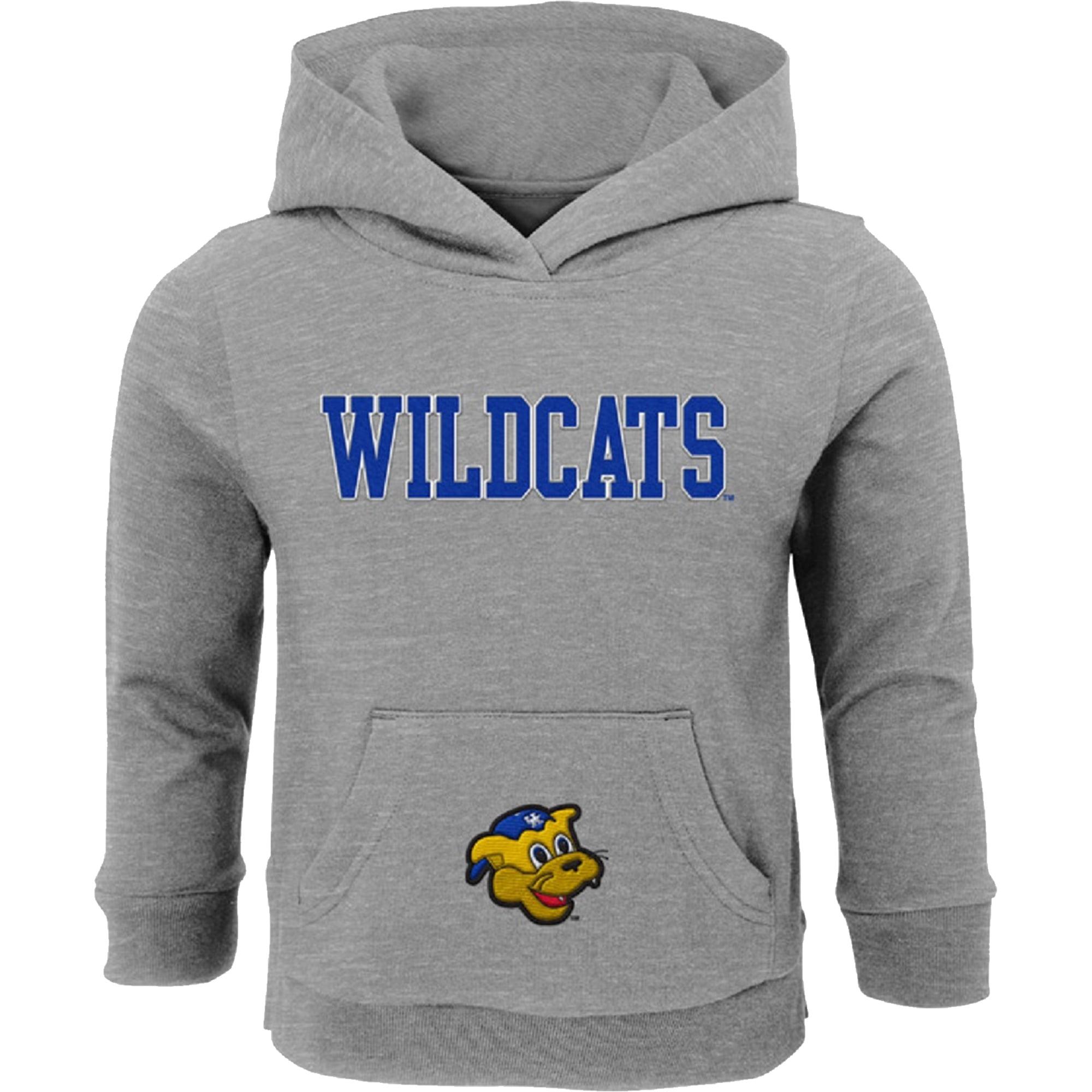 Preschool & Toddler Gray Kentucky Wildcats Team Logo Fleece Hoodie