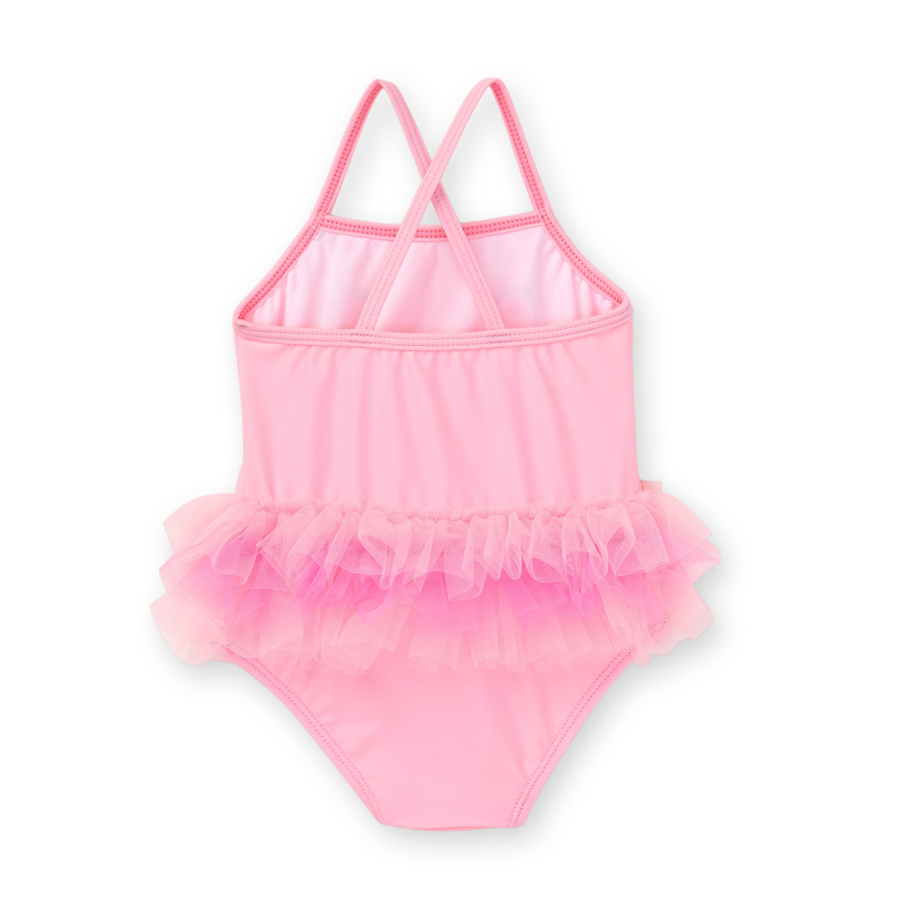 9d32ab4323 Healthtex - Baby Girl Kitty One Piece Tutu Swimwsuit - Walmart.com