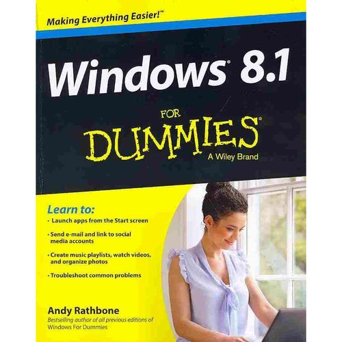 Windows 8.1 for Dummies Book   DVD Bundle