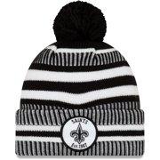 New Orleans Saints New Era 2019 NFL Sideline Home Sport Knit Hat - Black - OSFA