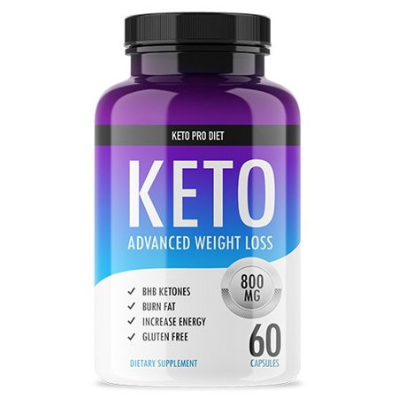 Keto Pro Diet - Advanced Keto Weight Loss Supplement - Ketogenic Fat Burner - Supports Healthy Weight Loss - Burn Fat Instead of Carbs - 30 Day (Best Diet For Fat Loss Female)