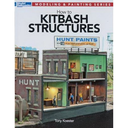 Kalmbach How To - Kalmbach 12472 How to Kitbash Structures- Modeling & Painting Series