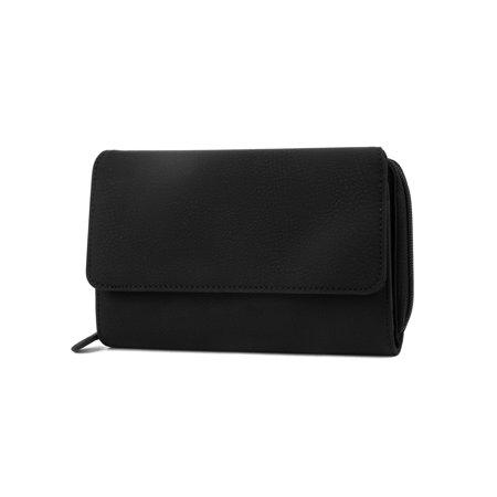 MUNDI Big Fat Wallet Womens RFID Blocking Wallet Card Carrier Clutch - Womens Small Wallet