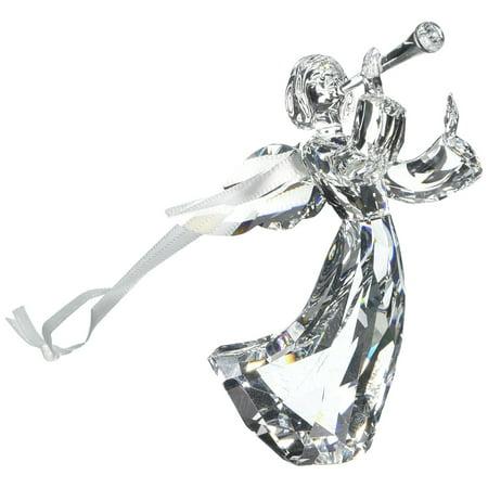 Swarovski Clear Crystal Christmas Ornament ANGEL ORNAMENT 2016 (Swarovski Crystal Angel Pin)