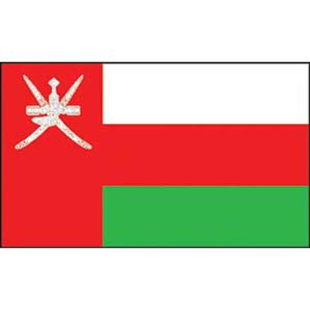 Oman Flag On A Stick 12