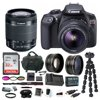 Canon T6 EOS Rebel DSLR Camera w/ EF-S 18-55mm IS II Lens & 58mm Wide & Telephoto Lens Bundle Canon T6 18MP CMOS DIGIC 4+ Image ProcessorWi-Fi & NFCWireless Connectivity3.0 fps Continuous Shooting9-Point AF SystemEOS Full HD VideoEnhanced Creative Filters
