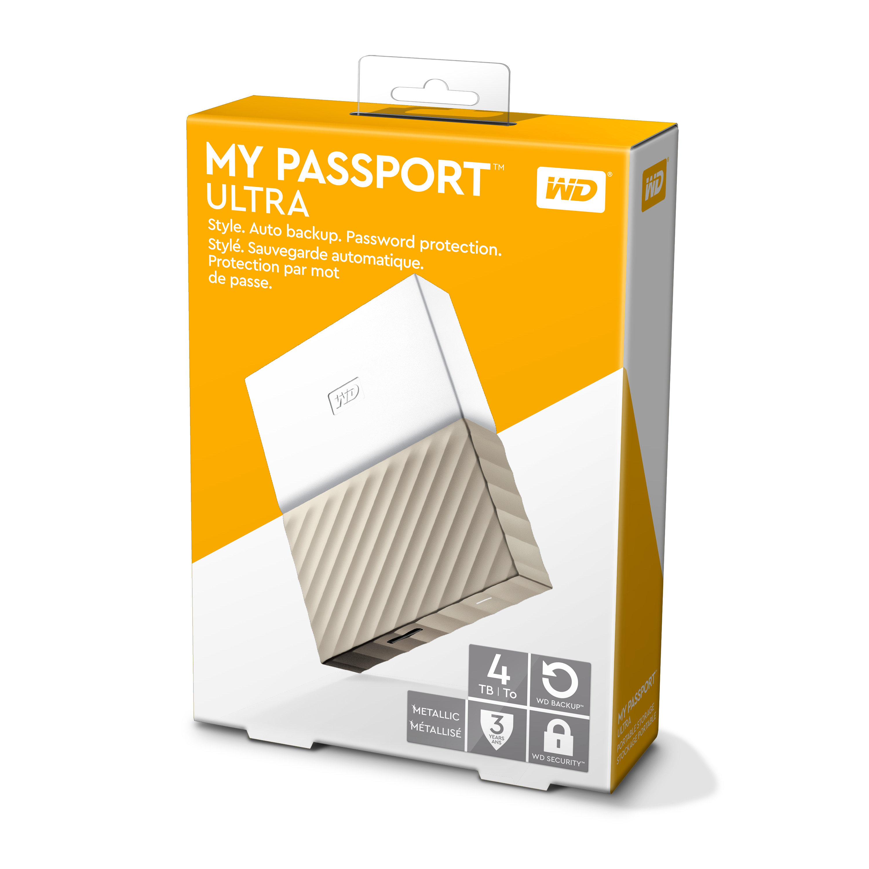 wd passport ultra metal edition 3tb gold