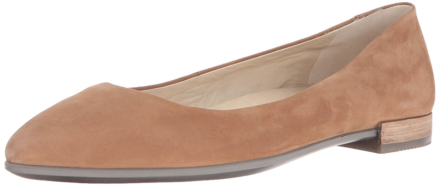ECCO Womens Shape Pointy Ballerina Pointed Toe Ballet Flats by Ecco