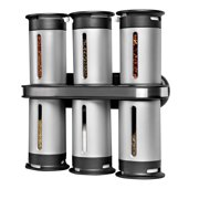 Honey Can Do Zero Gravity Wall-Mount Magnetic Spice Rack
