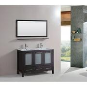 Kokols Sabrael 48 in. Double Bathroom Vanity Set