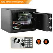 Zimtown Safes, Electronic Digital Safe Box, Keypad Lock Security Home Office Cash Jewelry Gun