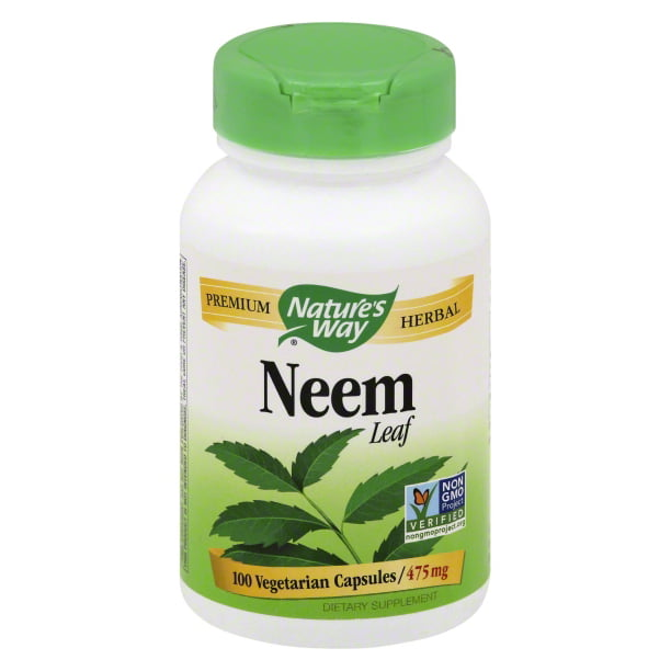 Natures Way Natures Way Neem Leaf, 100 ea