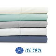 SensorPEDIC Ice Cool 400 Thread Count White Sheet Set - Twin