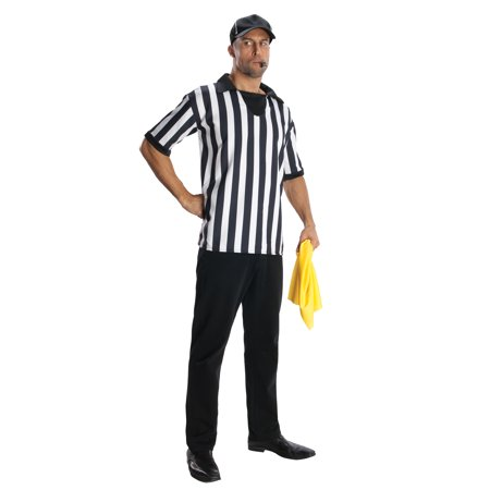 Referee Shirt Adult Unisex Costume Kit R880572 - Standard Large