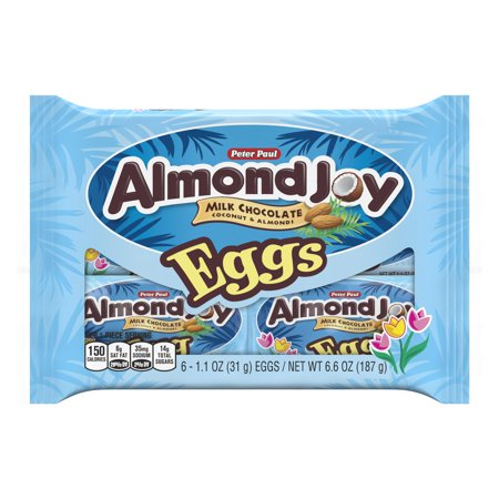 Image of ALMOND JOY Easter Eggs, 6 Count, 6.6 oz