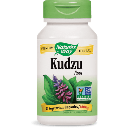 Nature's Way - Kudzu Root 613 mg 50 Capsules 14550 Exp.9.18+ (Kudzu 50 Capsule)