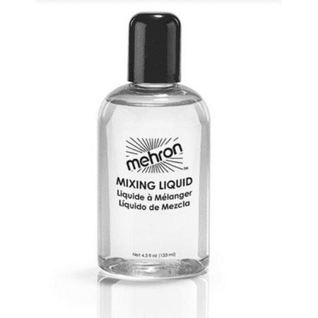 LWS LA Wholesale Store  Mehron Mixing Liquid With Fixative Makeup 4.5oz FX Liquid, - Best Wholesale Makeup