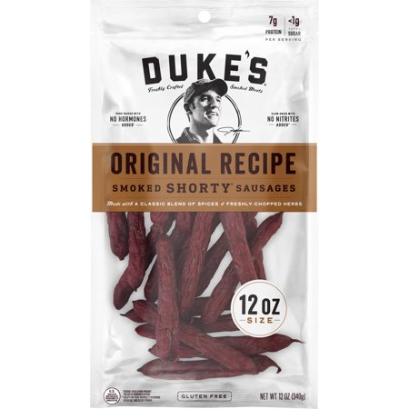 Duke's Smoked Shorty Sausages, Original, 12oz