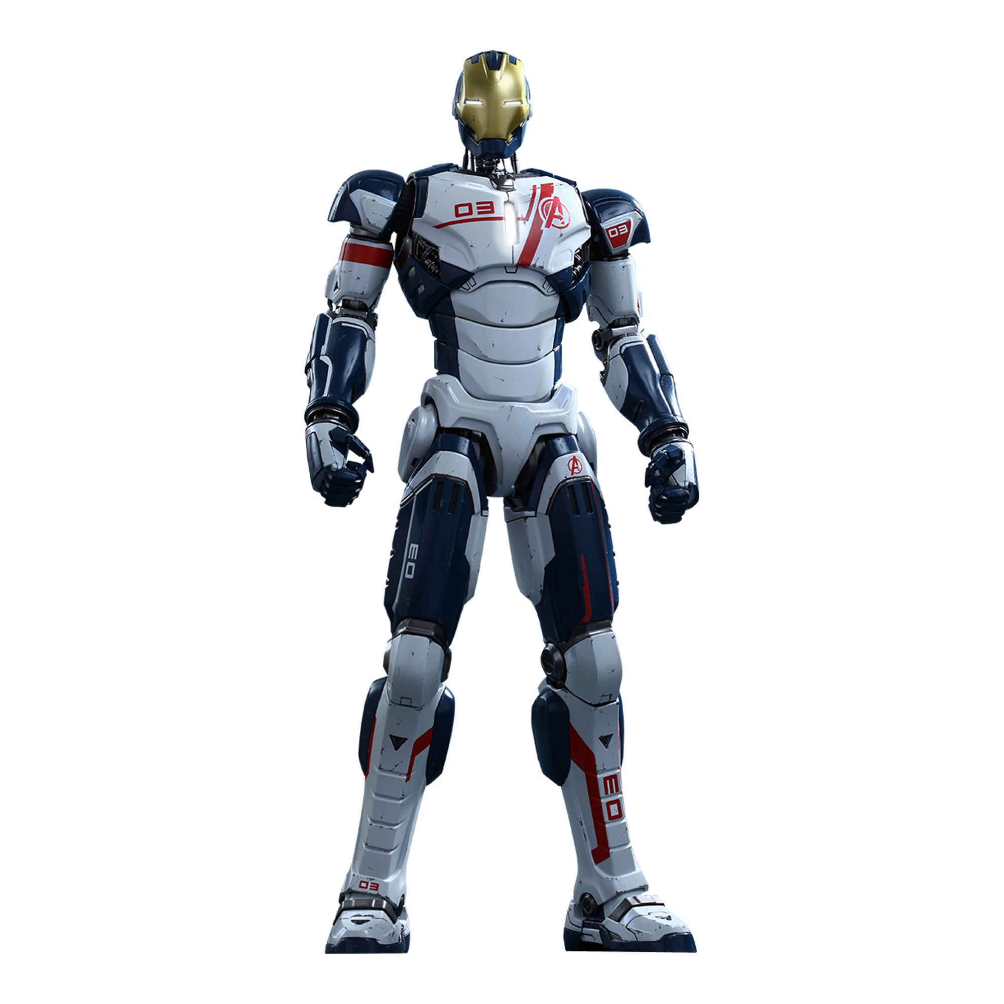 """Hot Toys Marvel The Avengers Age of Ultron Iron Legion Iron Man 1 6 Scale 12"""" Figure by"""