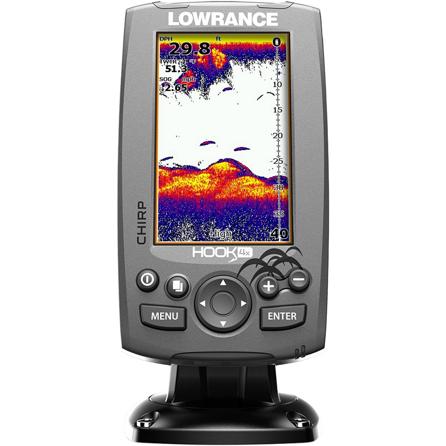 Lowrance Hook-4X Ice Machine Mid/High Fishfinder