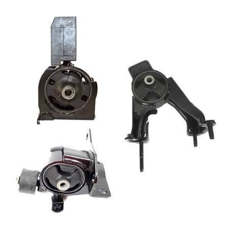 For 03-08 Toyota Corolla 1.8L FWD 62063 4220 4218 Set 3PCS Engine Motor and Transmission Mount 03 04 05 06 07 08