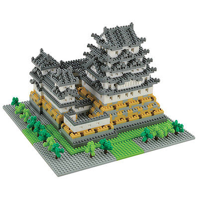 Deluxe Himeji Castle Nanoblock Miniature Building Blocks New Sealed Pk 99016 by nanoblock