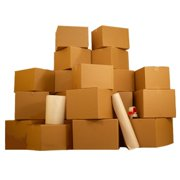 Uboxes 6 Room Basic Moving Kit, 85 Boxes, Moving & Packing Supplies