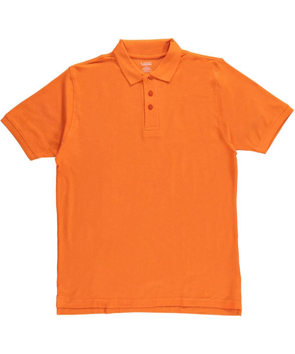Classic School Uniform Pique Polo (Adult Sizes S - XXL)