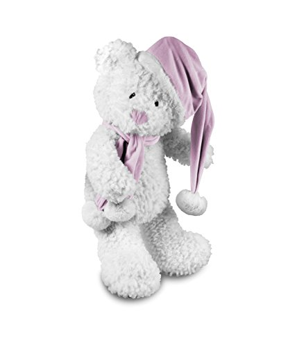 Beverly Hills Teddy Bear Company Winter Baby Bear Pink by Beverly Hills Teddy Bear Co.