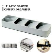 Drawer Cutlery Organizer Tray Kitchen Storage Holder Rack for Cutlery Silverware Compact Cutlery Tray Spoon Cutlery Box