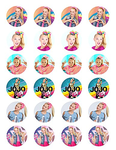 Arabian nights multicolored cupcake toppers Set of 12