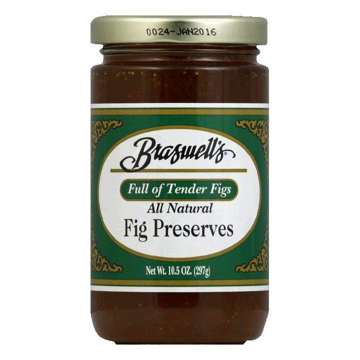 Braswell Preserves Fig, 10.5 OZ (Pack of 6) by