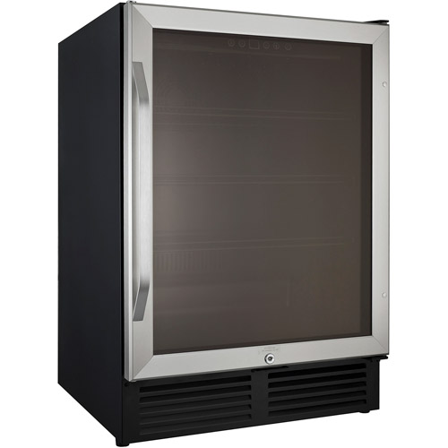 Avanti 5.0-cu. ft. Refrigerated Beverage Cooler, Black