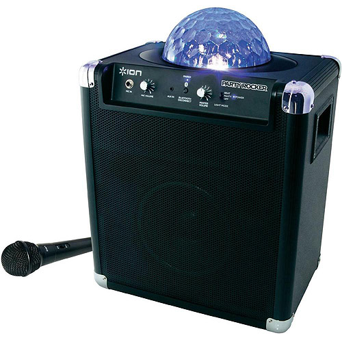 Ion Audio Party Rocker Live Bluetooth Speaker with Party Lights and App Control