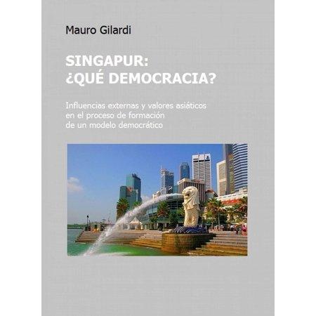 Singapur, ¿qué democracia? - eBook (Top-marken In Singapur)