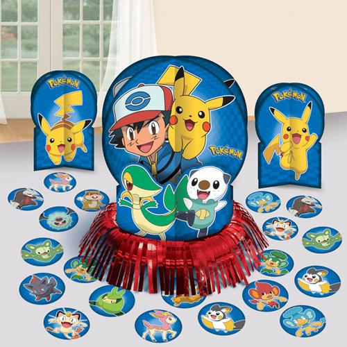 Pokemon Table Decorating Kit (23pc)